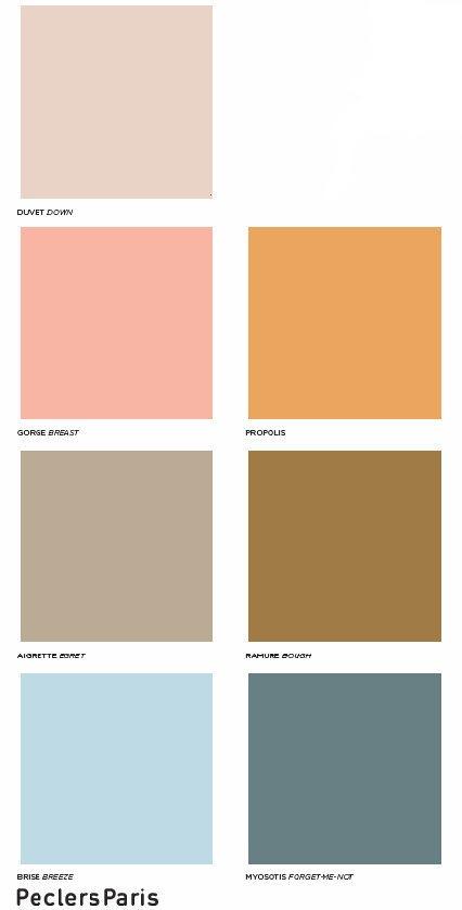peclers paris colores primavera verano diseño interiores