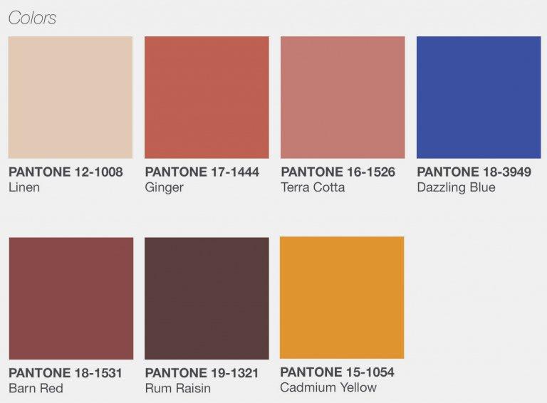 pantone colores tendencia primavera verano